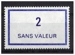 France - FICTIF N° 215 ** (1978) - 2 Violet - Ficticios