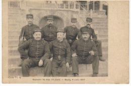 Souvenir De Mes 13 Jours Bourg 6 Juin 1907 - Bourg-en-Bresse