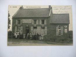 CPA - SALEUX - CAFE RESTAURANT DE LA GARE - Autres Communes