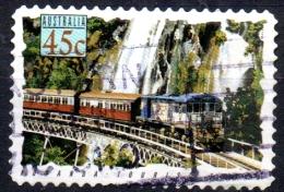 AUSTRALIA 1993 Australian Trains - 45c  - Cairns-Kuranda Tourist Train, Queensland  FU - Used Stamps