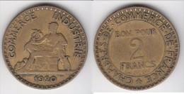 **** 2 FRANCS 1920 CHAMBRE DE COMMERCE - BRONZE-ALUMINIUM **** EN ACHAT IMMEDIAT !!!