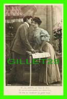 COUPLES - SI J'AI PROMIS, JE VOUS LE DOIS ET MEME EMBRASSEZ-MOI DEUX FOIS... - A. N. -  ÉCRITE - - Couples