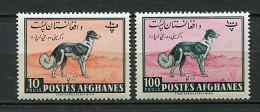 (cl 10 - P56) Afghanistan ** N° 523 - 527 (ref. Michel Au Dos) - Lévriers Afghans - - Afghanistan