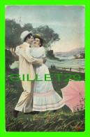 COUPLES - VOUS ME DONNEZ VOTRE MAIN !  - ÉCRITE EN 1907 - - Couples