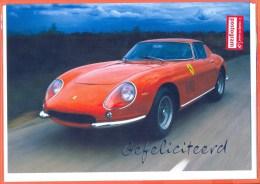 Belgie Postogram Unused Hallmark Automobile  Auto Car Sportcar Ferrari - Auto's