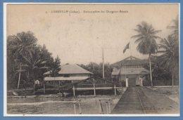 AFRIQUE  -- GABON --  Libreville  - Embarcadère Des Chargeurs Réunis - Gabon