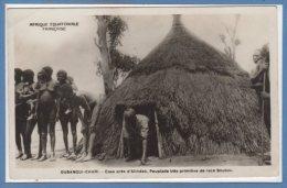 AFRIQUE  -- République Centrafricaine - (Oubangui Chari ) Case Près D'Alindao - Central African Republic