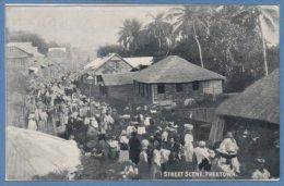 AFRIQUE - SIERRA LEONE -- Street Scene Freetown - Sierra Leone