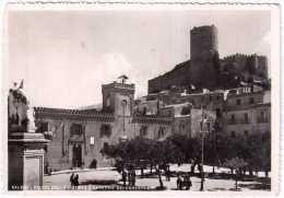 SALEMI PIAZZA DELLA LIBERTA´ E CASERMA DEI CARABINIERI VIAGGIATA 1952 - Italia
