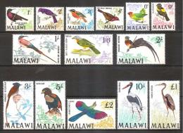 Malawi 1968 - Birds - Malawi (1964-...)
