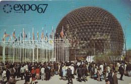 EXPO67 MONTREAL LE PAVILLON DES ETATS UNIS (DIL128) - Expositions
