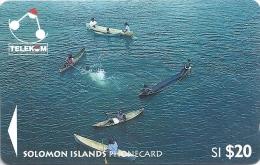 Solomon - SOL-15 Children From Marovo Lagoon 20$ 03SDB, Used