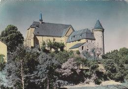Saint Angel 19 - Eglise Fortifiée - Editeur La Cigogne - Cachet Chamberets 1957