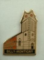 Pin´s BILLY MONTIGNY - EGLISE - Judo