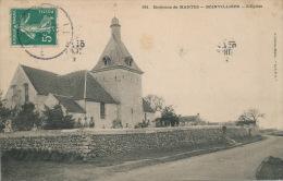Environs De MANTES - BOINVILLIERS - L'Église - Autres Communes