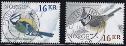 Norwegen  2015  Nr. 1867 - 68 Gestempelt Fauna - Birds - Used Stamps