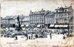 ARAD (Rumänien) - SZABADSÀG-TER 1905, Karte Fleckig S.Scan - Rumänien