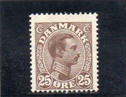 DANEMARK 1913-9 * - 1913-47 (Christian X)