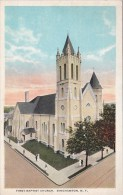 New York Binghamton First Baptist Church - NY - New York
