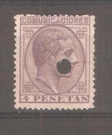 Sello Nº 198 T España - Ungebraucht