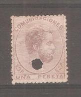 Sello Nº 127  T España - 1870-72 Reggenza