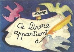 """Image MENIER N° 120 Par Jean Adrien MERCIER - Album """"Il était Une Fois"""" - Fin - 1953 - TBE - Chromos"""
