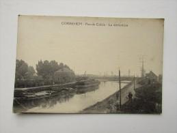 Cpa/pk Pas De Calais Corbehem La Dérivation Péniche - France