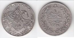 **** EGYPTE - EGYPT - 5 QIRSH 1327/6 (1913) MUHAMMAD V - ARGENT - SILVER **** EN ACHAT IMMEDIAT - Egypte