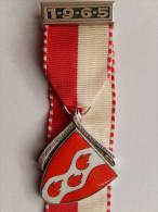 Rare Médaille SUISSE -  A. HUGGENBERGERLAUF  1965 FRAUENFELD - Other