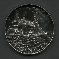 Slovakia, Bojnice, Castle, Souvenir Jeton, White - Tokens & Medals