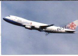 Boeing B 747-400 Aircraft Airways China Airines Cargo B747 Aereo Avion B.747 Aviation Aiplane Planes Flugzeuge B-747 - 1946-....: Era Moderna