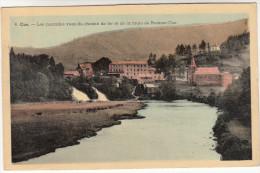 Coo, Les Cascades Vues Du Chemin De Fer Et De La Route De Roanne - Coo  (pk19835) - Aywaille