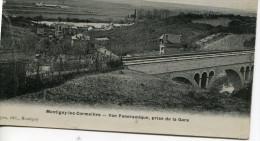 CPA -MONTIGNY LES CORMEILLES Vue Panoramique Prise De La Gare   - 1 Pli Mais BE - Circulée - Editeur Lepan - - Montigny Les Cormeilles