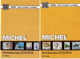 Nord/Südost-Europa Katalog 2015/2016 Neu 132€ MICHEL Band 4+5 Mit SRB BG GR RO TR Cyprus DK Eesti Soumi FL Latvia NO S - Alte Papiere