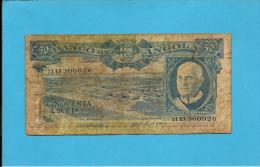 ANGOLA - 50 ESCUDOS - 10.06.1962 - P 93 - AMÉRICO TOMÁS - PORTUGAL - Angola