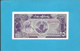 SUDAN - 25 PIASTRES - 1987 - P 37 - UNC. - 2 Scans - Soudan