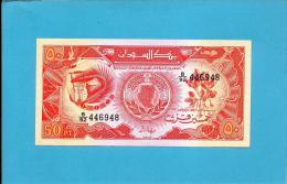 SUDAN - 50 PIASTRES - 1987 - P 38 - UNC. - 2 Scans - Soedan