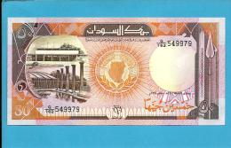 SUDAN - 50  SUDANESE POUNDS - 1991 - P 48 - UNC. - 2 Scans - Soudan