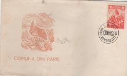 ROMANIA  BUCURESTI  La Commune De Paris  29/05/56 - Altri