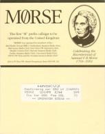 QSL-Karte Großbritannien HA5KVJ 1991 Samuel F B Morse Mørse Hemel Hempstead Card Radio Card Funkkarte United Kingdom - QSL-Karten