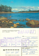 QSL-Karte Sowjetunion Archangelsk Solowezki-Inseln UA1-113-87 1988 Islands Card Funkkarte UdSSR USSR Soviet Union - QSL-Karten