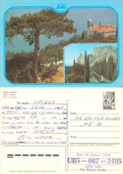 QSL-Karte Sowjetunion Ukraine Krim Simejis Yalta UB5-067-2495 1988 Crimea Crimée Jalta USSR UdSSR Soviet Union - QSL-Karten