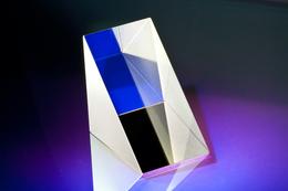 43.5   90 °  DISPERSIONS - PRISMA  / PRECISION  PRISM  HQO = HIGH QUALITY OPTICS - Prisms