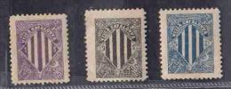SPAIN CINDERELLAS 3 DIFF 1899 AAE3766 - Erinnophilie