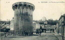 POITIERS La Tour De La Porte De Paris (C9325) - Poitiers