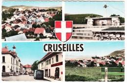 Cruseilles: 2x CITROËN TUBE HY - Restaurant 'Lavorel' - Village, Monument Etc. - (Haute-Savoie, France) - Toerisme