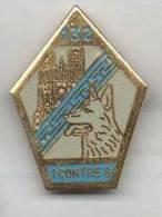 Militaire ? Armée ? GCAT 132e Groupe Cynophile Avec Chien 1 Contre 8 - Militaria