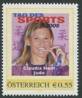ÖSTERREICH / PM Tag Des Sports 2005 / Claudia Heill - Judo / Postfrisch / MNH /  ** - Österreich