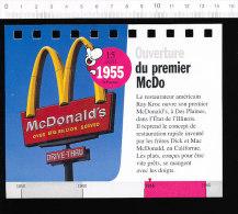 2 Scans / Ouverture Du Premier McDo McDonald's / Bateau Voilier Mayflower   //  BIM 69/3-K - Vieux Papiers
