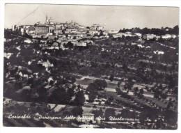 Corinaldo Panorama Viaggiata 1958 Ma Francobollo Asportato COD.C.1875 - Italia